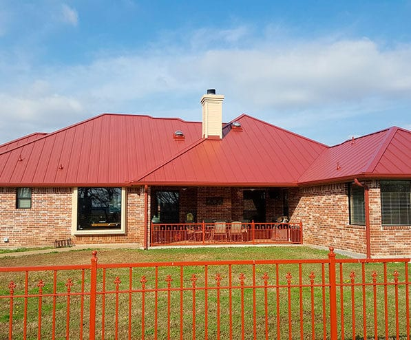 Metal Roofing in kaufman texas