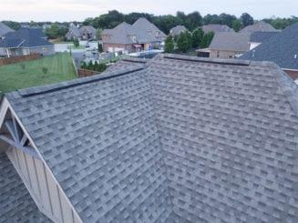 ridge vent on shingle roof