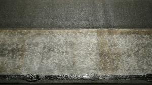 Reinforced with an extra fiberglass mat