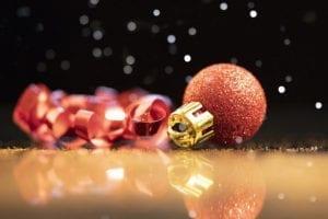 sparkling chrismas ball