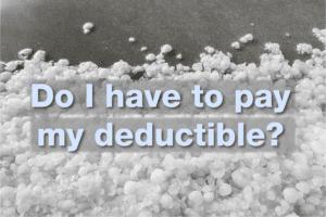 hail deductible